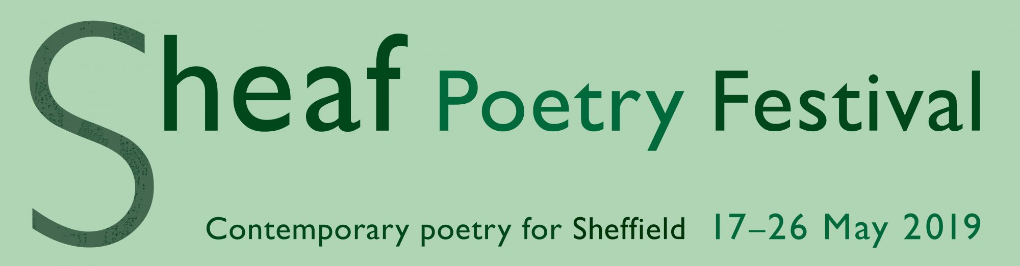 Sheaf Poetry Festival